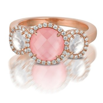 Bella Rosa Rose Quartz Ring