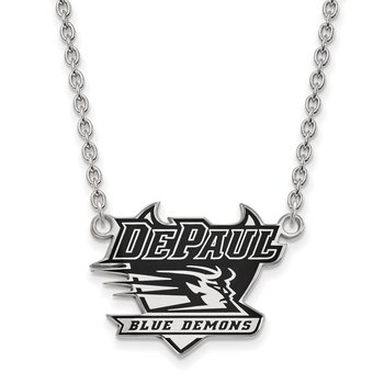 Sterling Silver DePaul University NCAA Necklace