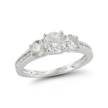 1cttw Three Stone Diamond Ring