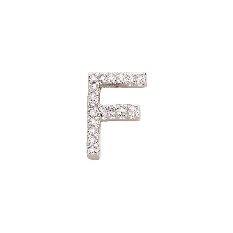 S. Kashi  & Sons Alphabet Fishtail Series Letter F