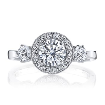 Diamond Engagement Ring 0.53 ct tw