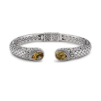 Basketweave Bangle