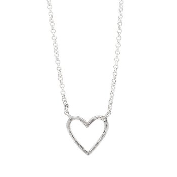 Ever Open Heart Necklace