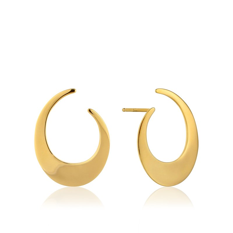 Ania Haie Oval Twist Earrings