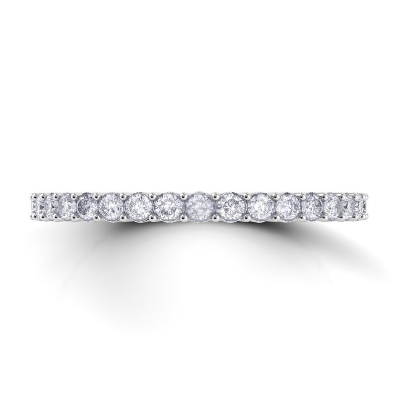 Danhov Carezza Flat Diamond Band