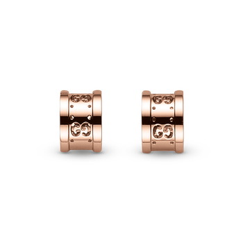 Gucci 18kt rose gold Icon Swirl earrings. Available at our Halifax store.