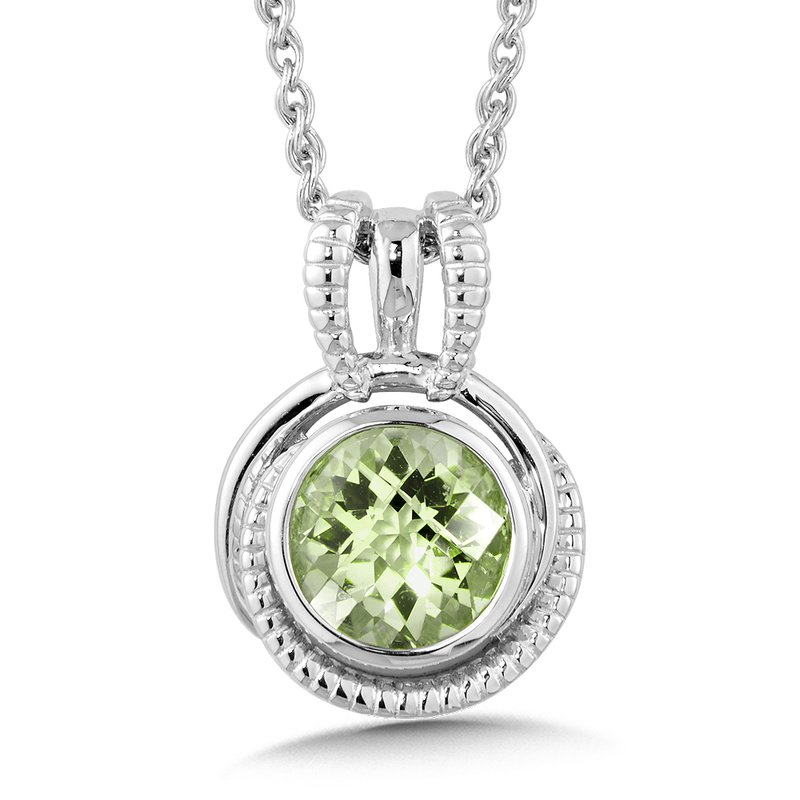 sterling pendant products necklace silver green amethyst