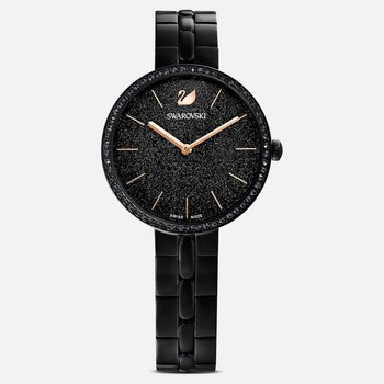 Cosmopolitan Watch, Metal Bracelet, Black, Black PVD