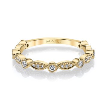 MARS 26935 Stackable Ring, 0.20 Ctw.
