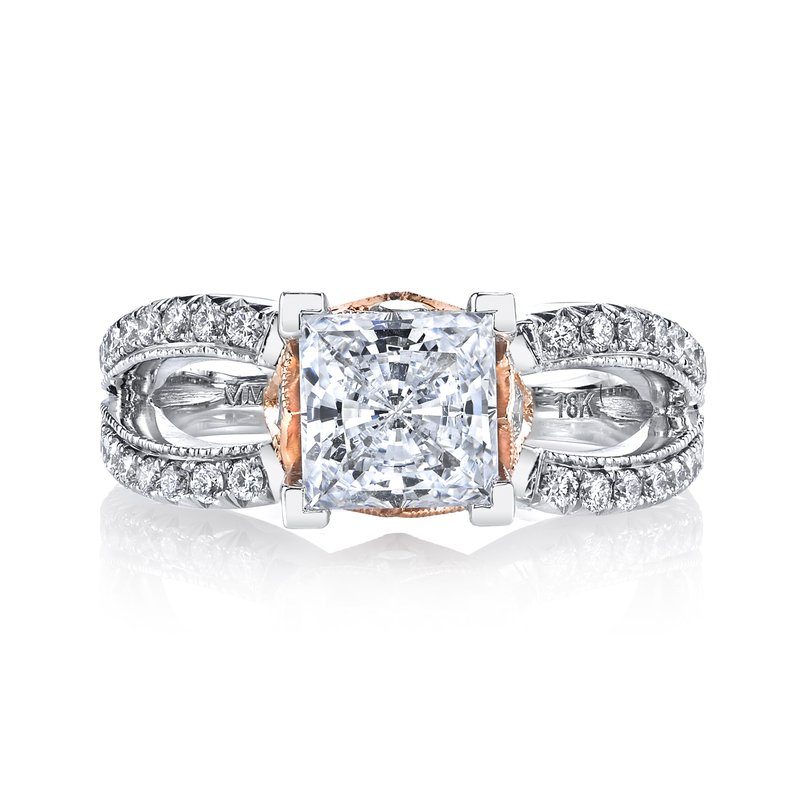 MARS Jewelry R255 Diamond Engagement Ring, 0.70 Ctw.