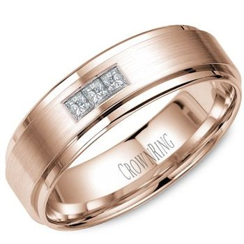 CrownRing Men's Wedding Band WB-7973