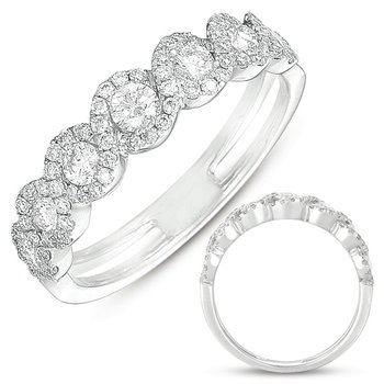 Platinum Fashion Diamond Ring