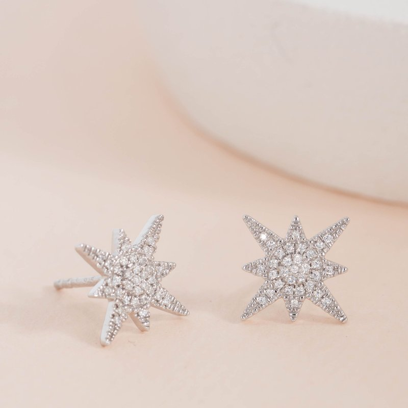 Ella Stein Stargazer Sterling Silver Earrings