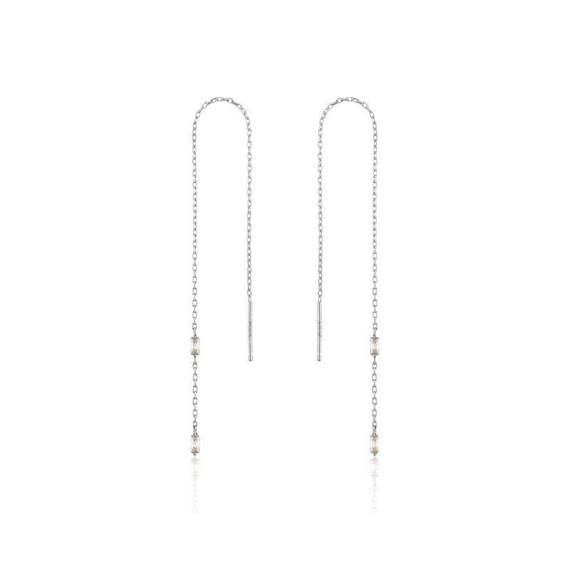 Ania Haie Glow Threader Earrings