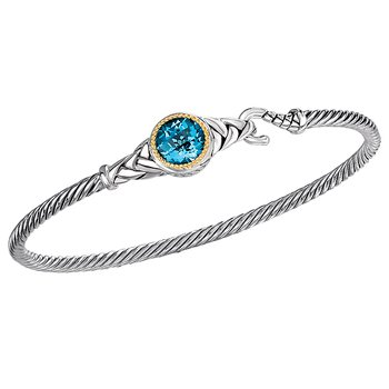 Ladies Fashion Gemstone Bangle