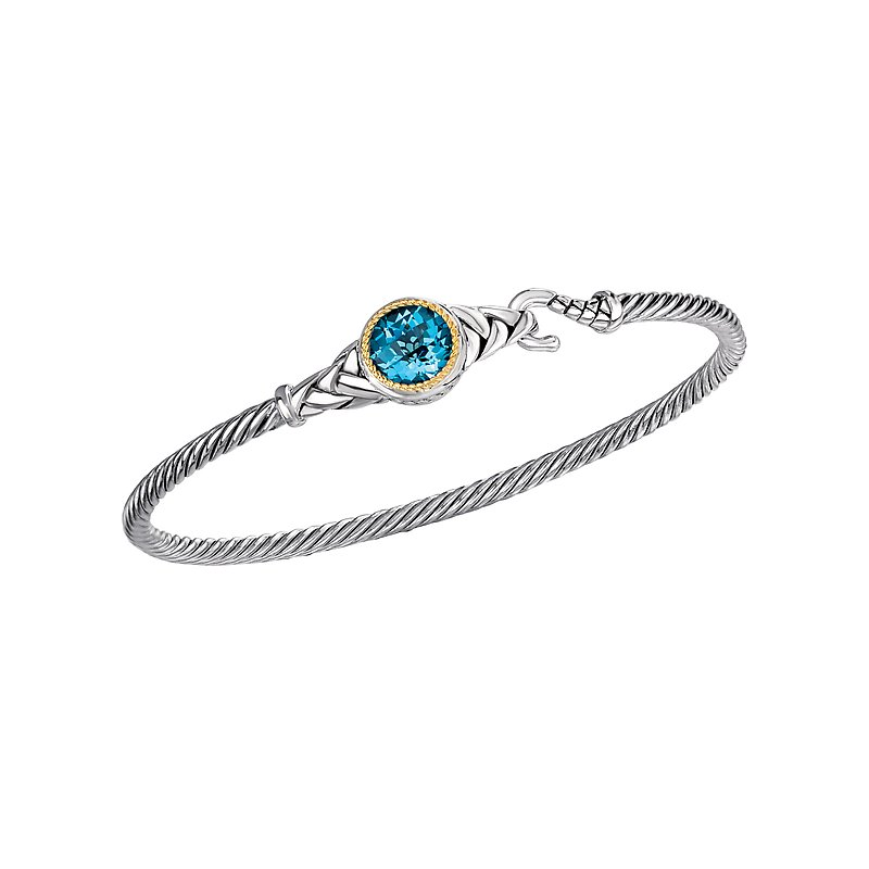 Eleganza Ladies Fashion Gemstone Bangle