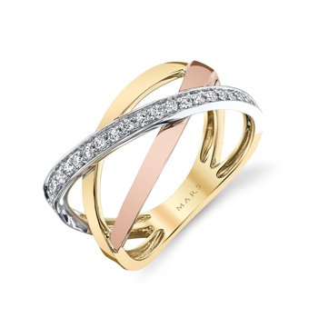 MARS 26865 Fashion Ring, 0.24 Ctw.