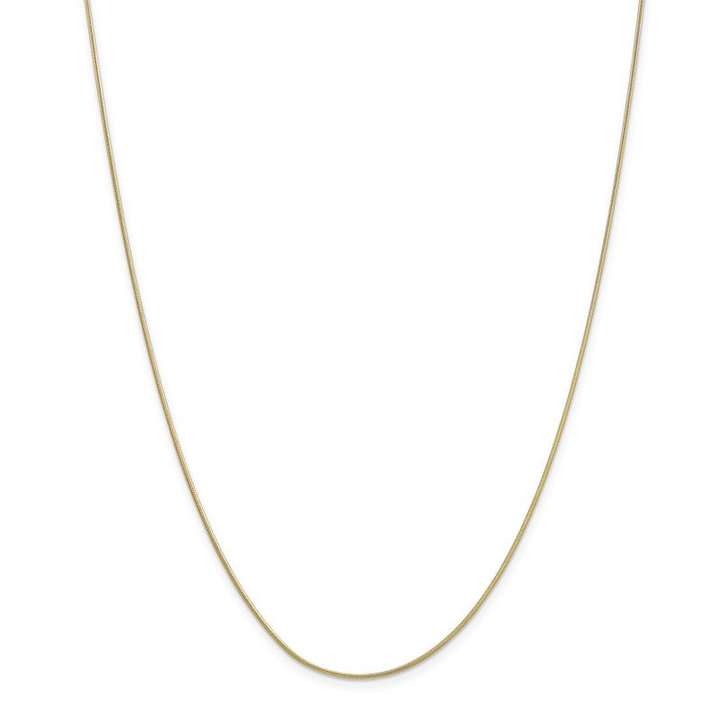 Lester Martin Online Collection 10k .9mm Round Snake Chain