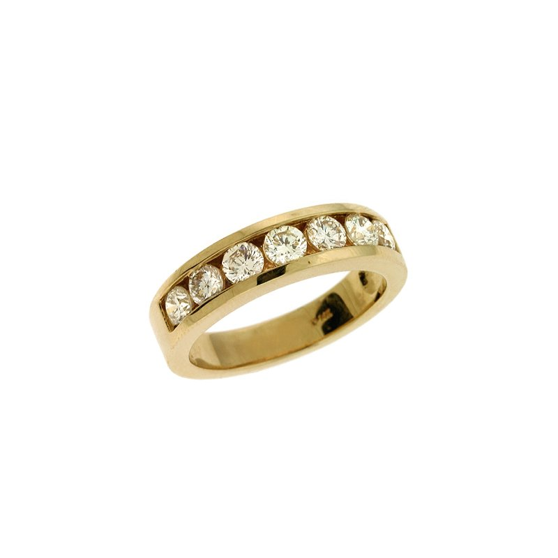 S. Kashi & Sons Bridal Diamond Channel Band