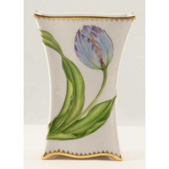 Blue Tulip Small Vase