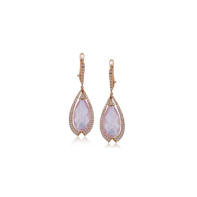 Zeghani ZE497 COLOR EARRING