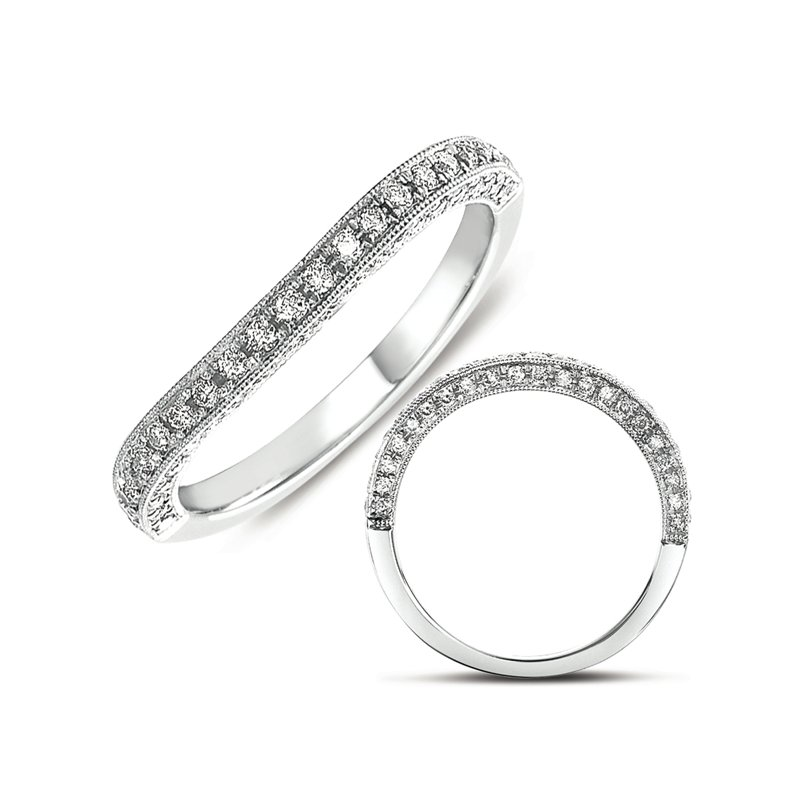 S. Kashi & Sons Bridal Matching Wedding Band for en7290