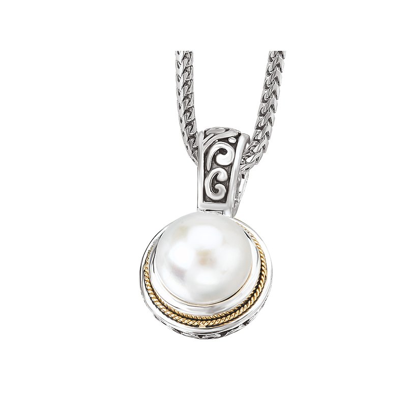 Eleganza Ladies Fashion Pearl Pendant