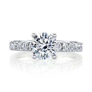 MARS 27148 Diamond Engagement Ring, 1.18 Ctw