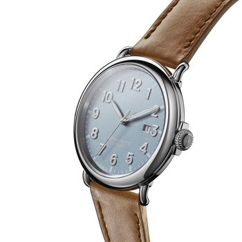 Watch: Runwell 3HD 47mm, Largo Tan Leather Strap