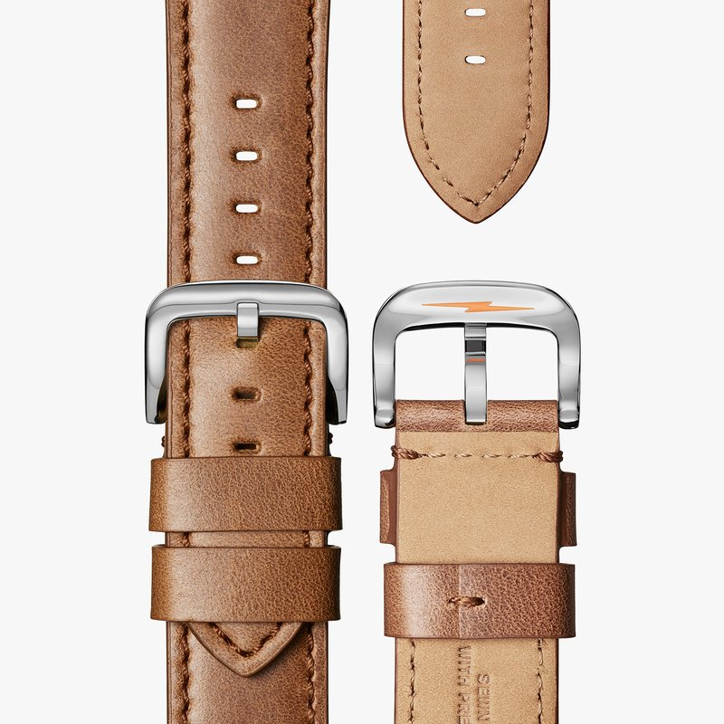 Shinola Runwell 3HD 47mm, Largo Tan Leather Strap