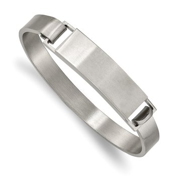 Stainless Steel Brushed 7.8mm ID Bangle