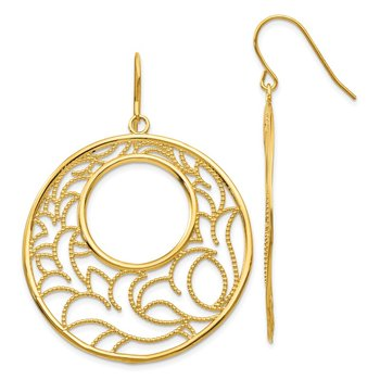 14K Circle Earrings