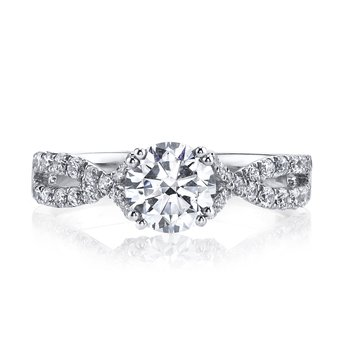 Diamond Engagement Ring 0.46 ct tw