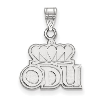 Sterling Silver Old Dominion University NCAA Pendant