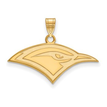 Gold University of Tennessee at Chattanooga NCAA Pendant