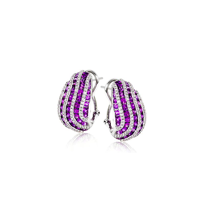 Zeghani ZE603 COLOR EARRING