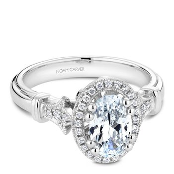 Noam Carver Fancy Engagement Ring B076-02A