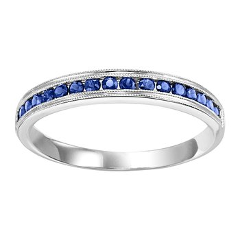10K Sapphire Mixable Ring