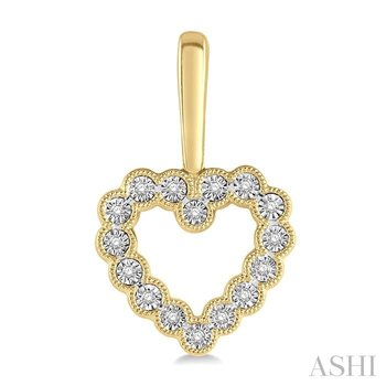 diamond heart shape earrings
