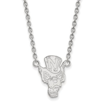 Gold University of Nevada NCAA Necklace