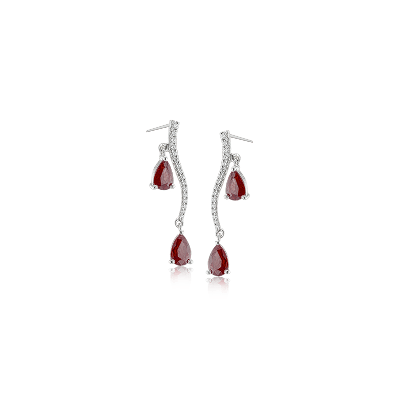 Simon G LE2213 COLOR EARRING