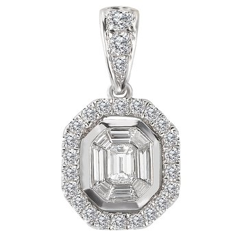 Ladies Fashion Diamond Pendant