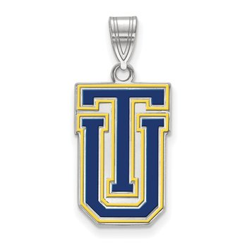 Sterling Silver University of Tulsa NCAA Pendant