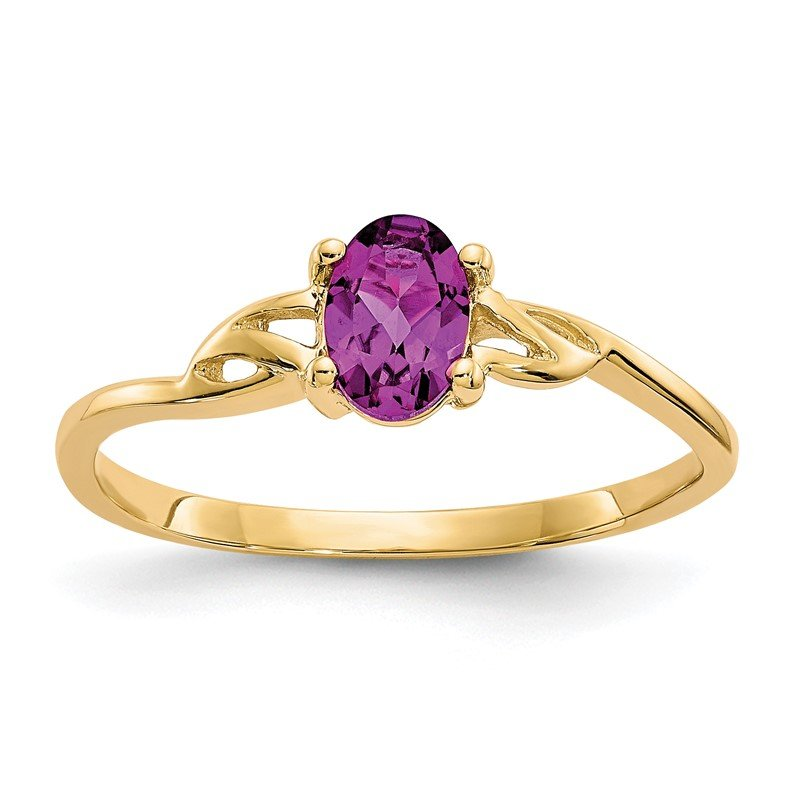 Quality Gold 14k Rhodolite Garnet Birthstone Ring