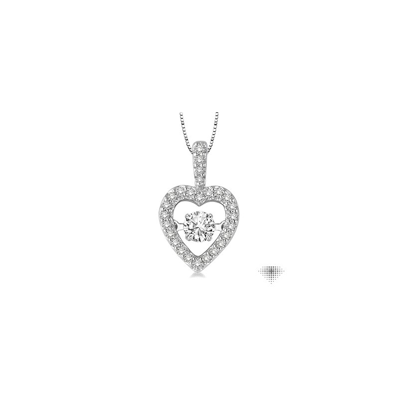 Emotion Diamonds Emotion Diamond Heart Pendant