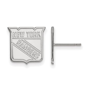 Gold New York Rangers NHL Earrings