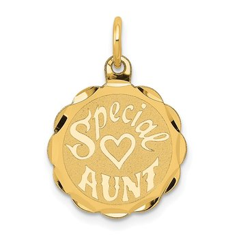 14K SPECIAL AUNT Charm