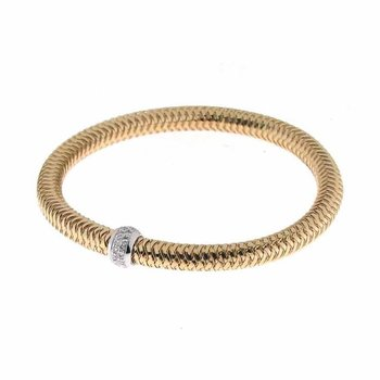 #25940 Of Flexible Bangle With Diamonds