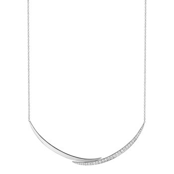 Crescent Collar Necklace