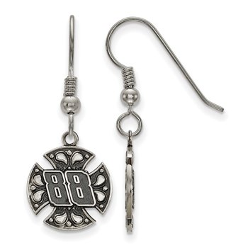 Stainless Steel 88 Dale Earnhardt Jr NASCAR Earrings